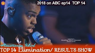 Michael J. Woodard Believe In Yourself  Top 10 American Idol 2018 Top 14 Results Show