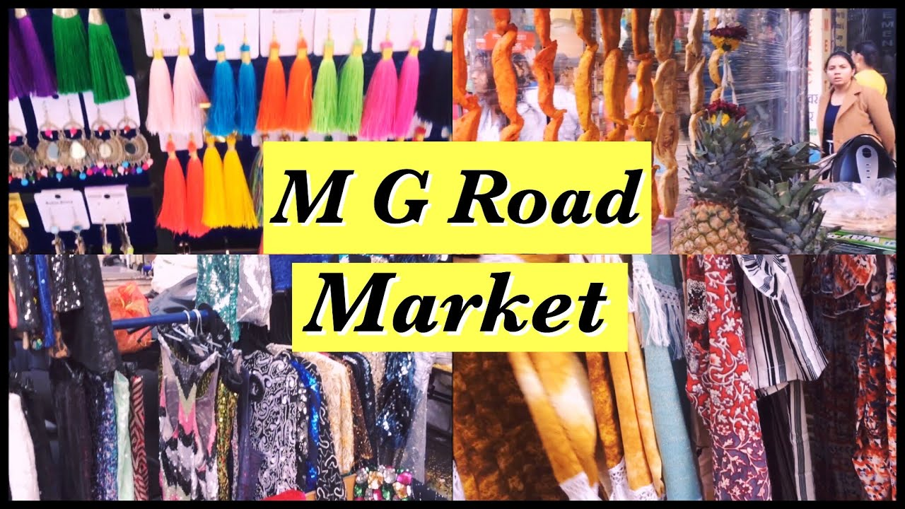Exploring M G Road Market Pune Pune Street Shopping India Neetu K Youtube