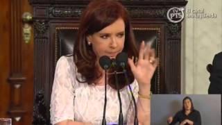 Amigos y enemigos de la presidente Cristina Fernandez de Kirchner | Discurso 2014