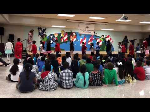 Alison A&Bs Award,Kanoheda Elementary School.