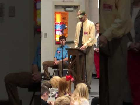 Veterans Day 2018- Wateree Elementary School Speaker Raymond E. McIntyre