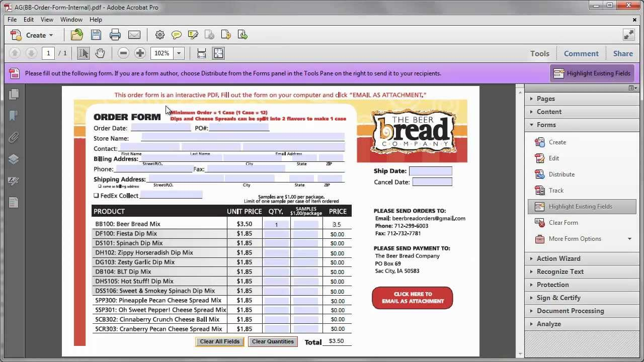 Find Formulas for Calculated Fields in Adobe Acrobat Form - YouTube