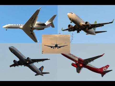 My 1,200 Video | Spotting LLBG TLV 10-11-2012 | Canon SX40 HS Full HD