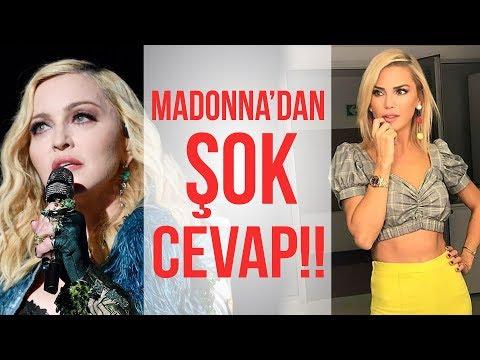 Şok Madonna Gafı! Eurovi̇si̇on'da Yarışmacı Olduğunu Sandılar!