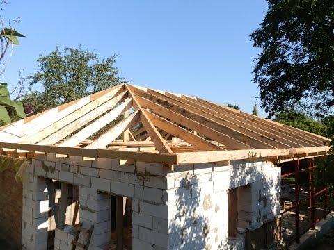 Крыша своими руками подробно