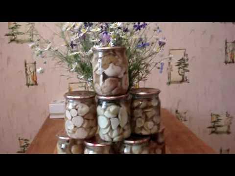 МАРИНОВАНИЕ белых грибов