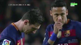 FC Barcelona vs RC Celta de Vigo [6-1][14/02/2016] EL BARÇA JUGA A RAC1
