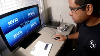 OOSSXX Wireless Camera & NVR Security System Unboxing and Initial Setup