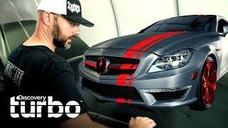 Cómo forrar un Mercedes-Benz | Autos únicos con Will Castro | Discovery Turbo