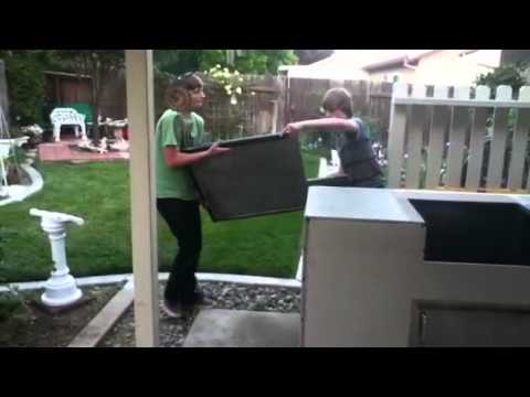 Custom Bbq Island Do It Yourself Kits Frames Youtube