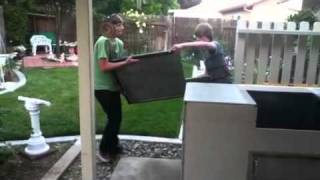 Custom Bbq Island Do It Yourself Kits/frames