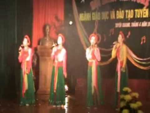 Video clip Buc hoa dong que Truong THPT Na Hang