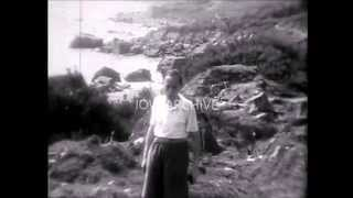 1939 - cine film - luccombe chine / binnel bay - isle of wight