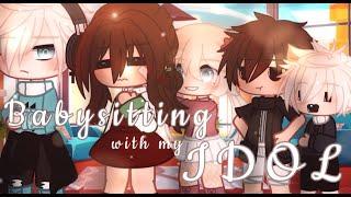 •Babysitting with my IDOL• || GCMM || Gacha Club Mini Movie || •1/2•