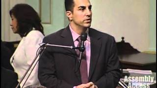 Assemblyman Mike Gatto Presents on Genocide Victims Legislation video