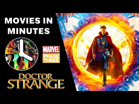 Doctor Strange in 4 minutes - (Marvel...