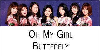 Oh My Girl - Butterfly (Color Coded Lyrics ENGLISH/ROM/HAN)
