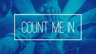 """""""Count Me In"""" - 8:45 am"""
