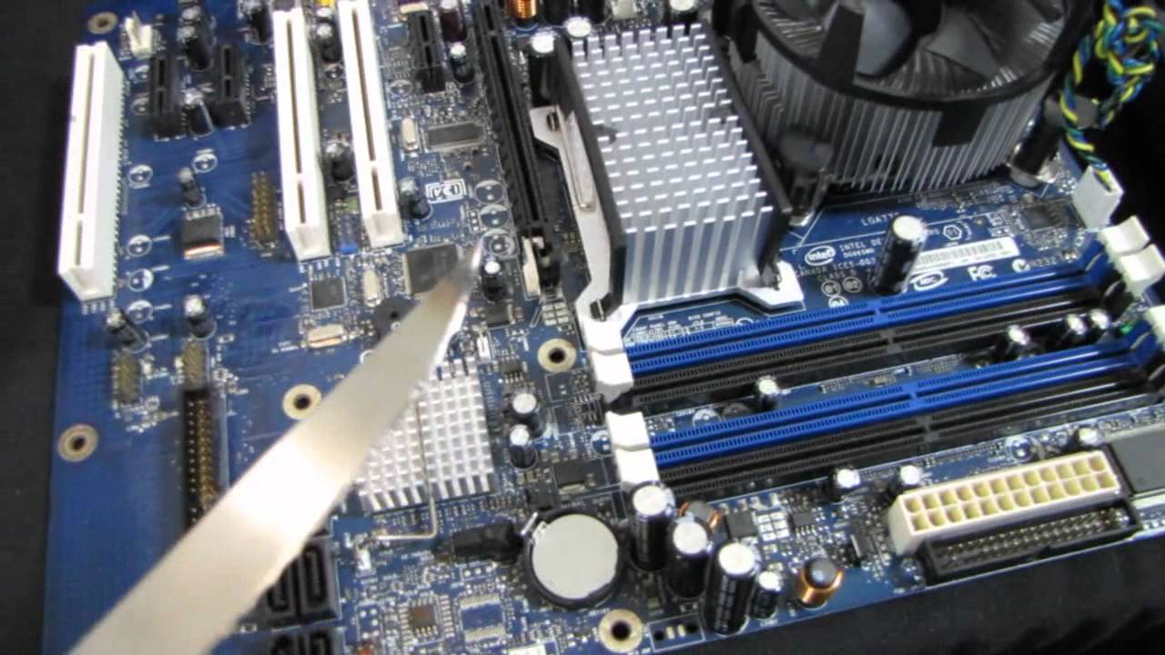 Personal Project Make A Pcie 1x Slot Compatible With