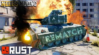 New Rust Players vs Tank (THE REMATCH) - RUST