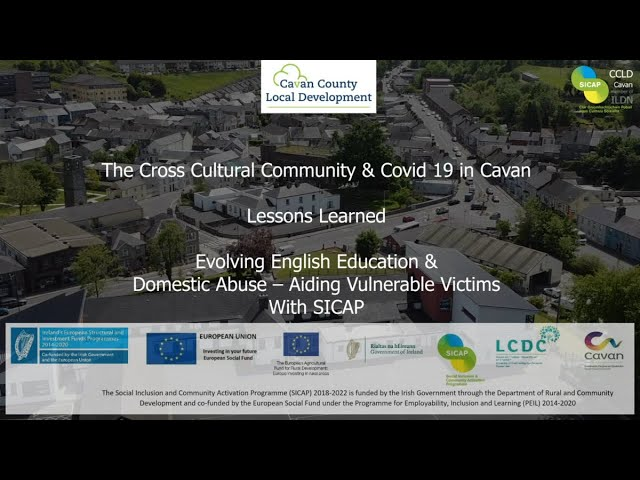SICAP Case Study 2021 - New Communities in Cavan (English language learning / Domestic Abuse