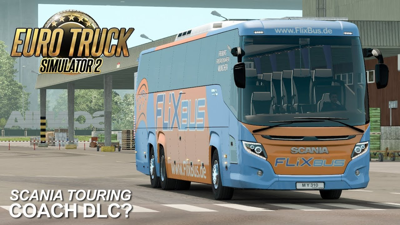 Euro Truck Simulator 2 - Scania Touring (WIP)