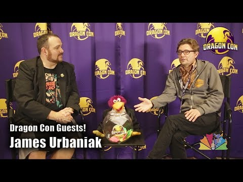 James Urbaniak @ Dragon Con 2018 dragoncontv