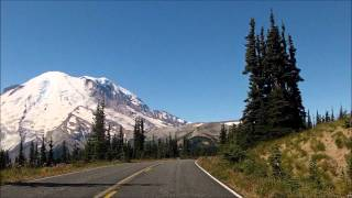 Mt Rainier National Park (Sunrise Point to Sunrise Visitors Center) 9-2-12