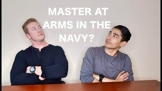 Joining the NAVY as a MASTER-AT-ARMS (MA) ft Austen Alexander