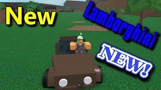 Roblox Lumber Tycoon 2! Moments drôles! Ma nouvelle Lamborghini!??