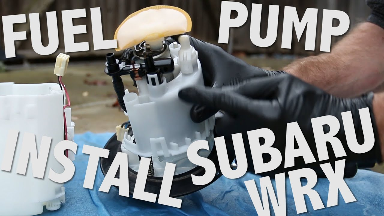 How To Install A Fuel Pump In Subaru Wrx Part 2 Installation 2006 Filter Location