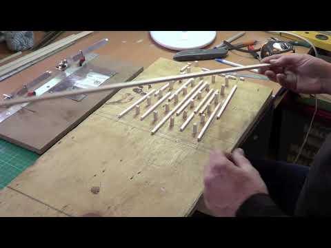 """Trestle Bridge Build Part 1 """" Building the Top & the Bents"""""""