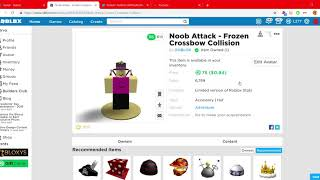 ROBLOX NOOB ASSSIST IS OUT! 75K STOCK :(