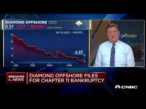 Diamond Offshore files for Chapter 11 bankruptcy