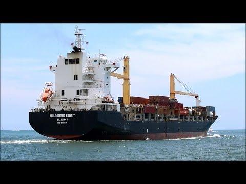 MELBOURNE STRAIT cargo ship