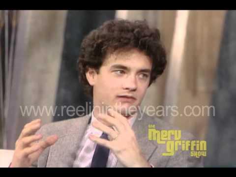 """Tom Hanks Interview """"Splash"""" (Merv Griffin Show 1984)"""