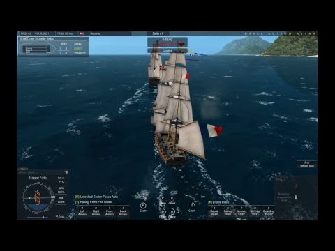 Naval Action Surprise vs Agamemnon PvP patrol on Dannish waters