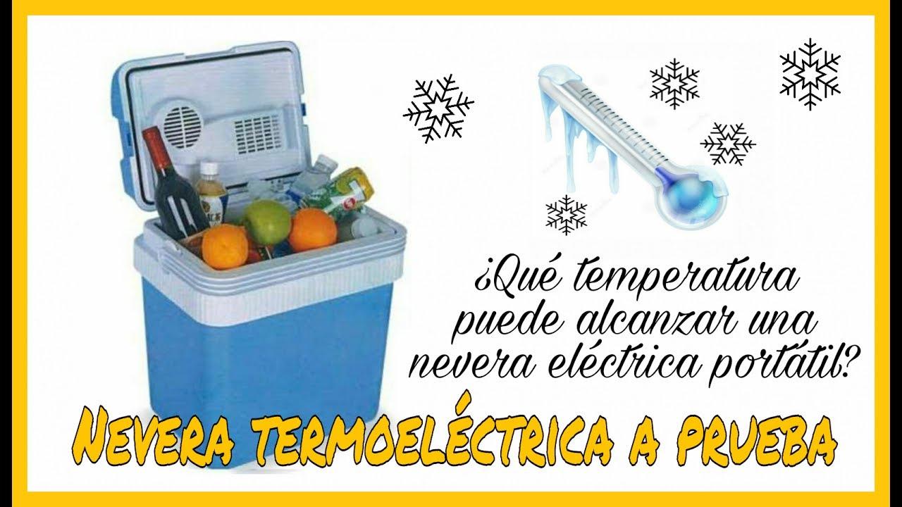 Ahorro de energ/ía A ++ Capacidad de 12L Poder 96W INTEY Nevera termoel/éctrica port/átil para coche Ideal para al aire libre// hogar AC 12V
