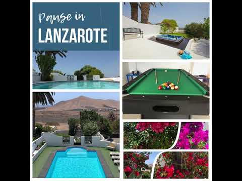 Need a holiday in Lanzarote?
