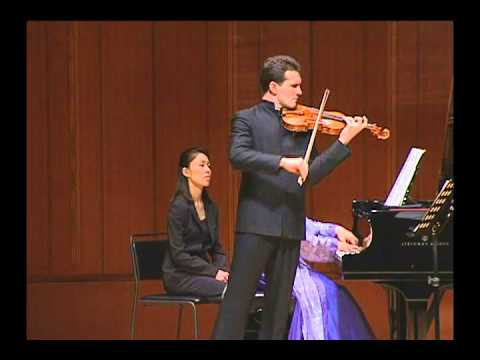 Janacek: Violin Sonata - I. Con moto, Svetlin Roussev, Haruko Ueda