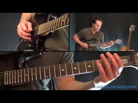 Metallica - One Guitar Lesson Pt.1 - Intro & Verse