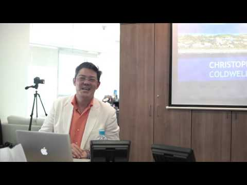Christophe Choo speaking at Coldwell Banker Dubai United Arab Emirates UAE - Part 3