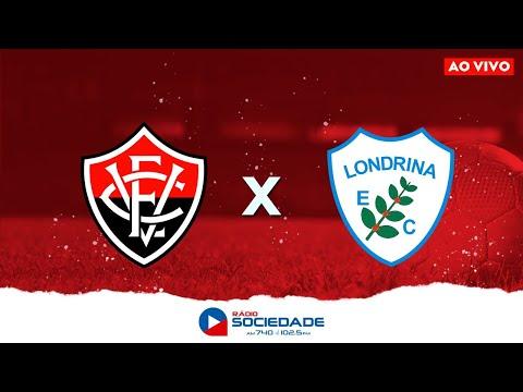 Vitória x Londrina - Brasileirão Série B - Rádio Sociedade