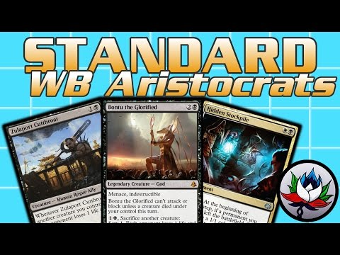 MTG – Powerful B/W Aristocrats Standard Deck Tech for Magic: The Gathering!