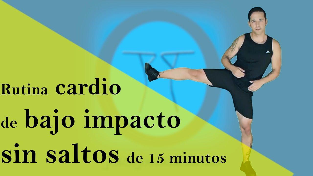 cardio para adelgazar rapido y tonificar bajo impacto sin saltos