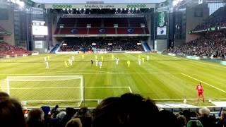 FCコペンハーゲンの試合観戦に行ってきました!  その1