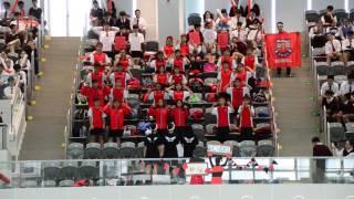 第55屆周年水運會紅社啦啦隊表演