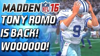ROMO IS BACK! COWBOYS WIN! SUPERBOWL BOUND! SHITTY MADDEN PACKS!