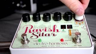 Electro Harmonix Ravish Sitar demo