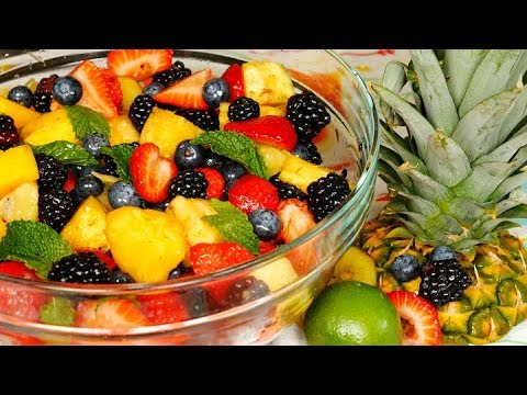 Fruit Salad with Dressing
